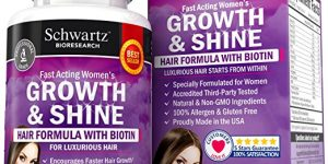 Top 10 Best Women's Hair Growth Products for Hair Loss in 2017