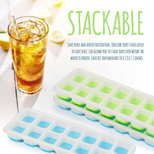 Easy-release Ice Tray