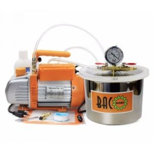 BACOENG 1 1/2 Gallon Vacuum Chamber Kit