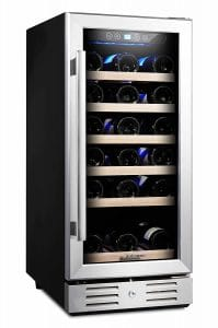 Kalamera 15'' 30 Bottle Built-in Wine Cooler
