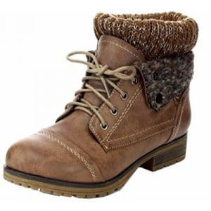 REFRESH WYNNE-01 Women's combat style winter boot