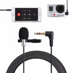 Tycka 3m Clip-on Lavalier Microphone