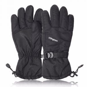 Snow Gloves Waterproof Winter Warm Gloves