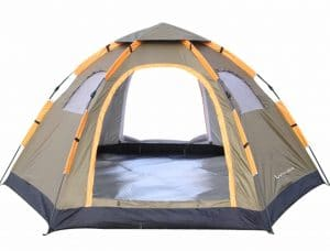 Wnnideo Instant Family Tent 6 Person Large Automatic Pop Up Tents
