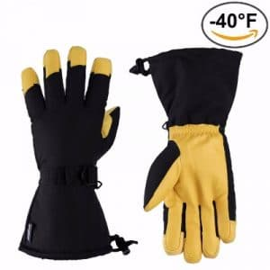 OZERO Ski Gloves