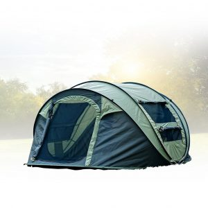 FiveJoy Instant Pop Up Dome Tent - Easy, Automatic Setup - Fast Pitch & Fold into Portable Carrying Case (Includes Stakes)