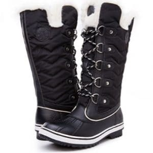 Kingshow Women's Global Win Waterproof Winter Boots