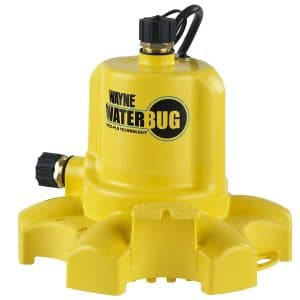 WAYNE WWB WaterBUG Submersible Pump with Multi-Flo Technology