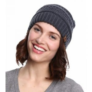 Cable Knit Beanie by Tough Headwear