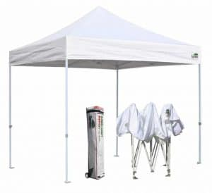Eurmax Basic 10x10 EZ Pop up Canopy Tent Entry Commercial Level+Roller bag