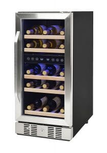 NewAir AWR-290DB Compact 29 Bottle Compressor Wine Cooler