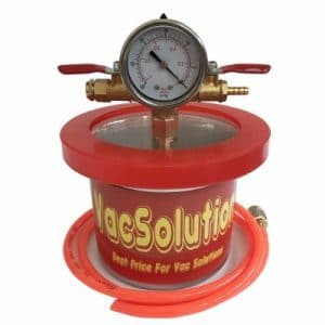 VacSolutions Mini 1.5 Quart Vacuum Chambers