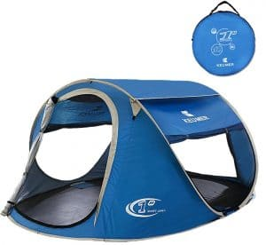 Pop up Tent -Automatic and Instant Setup-Water Resistant and Anti-UV for 3-4 People for Hiking and Camping