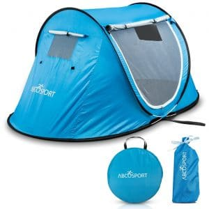 Pop-up Tent an Automatic Instant Portable Cabana Beach Tent - Suitable For up to 2 People