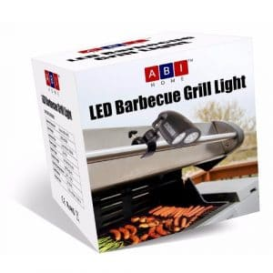 Barbecue Grill Light - BBQ Grill Light by ABI Home - 10 Super Bright LED Lights Adjustable To 3 Levels