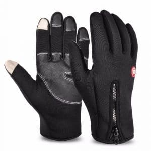 Vbiger Thick Warm Touch Screen Texting Gloves Cold Weather Gloves Cycling Gloves for Men & Women