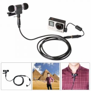 Fantaseal Windproof Stereo Mic Kit for GoPro Microphone