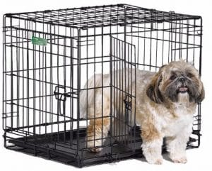 MidWest iCrate Single Door _ Double Door Folding Metal Dog Crates