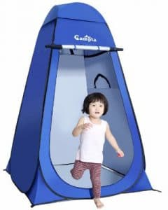 Campla Portable Pop up Dressing_Changing Tent Beach with Carrying Bag