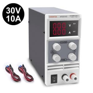 DC Power Supply Variable,0-30 V / 0-10 A Eventek KPS3010D Adjustable Switching Regulated Power Supply