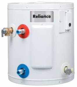 Reliance 6 SOMS K Compact Electric Mini Water Heater, 6-Gallon