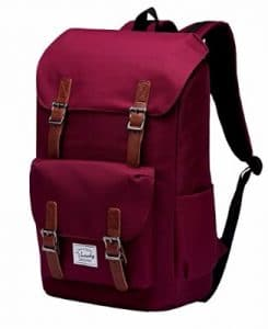 Vaschy Casual Water-resistant Backpack