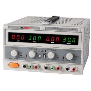 Dr.meter HY3005F-3 Variable Triple Linear DC Power Supply
