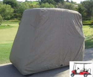 Formosa Covers Deluxe Golf Cart Cover, 4-Person Cart