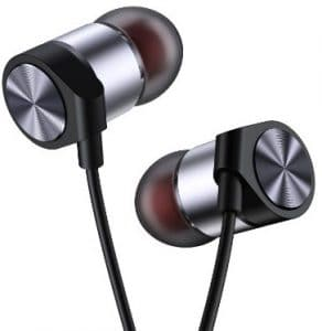 Maxtronic Metasonic In-Ear Bass Earbud Headphones, Black