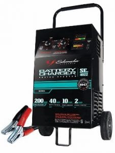 Schumacher SE-4022 Manual Wheeled Battery Charger-Tester (2-10-40-200 Amp)