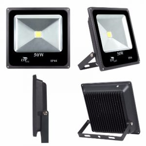 LTE 50W Super Bright Outdoor LED Flood Lights, 3800 Lumen,150W HPS Bulb Equivalent