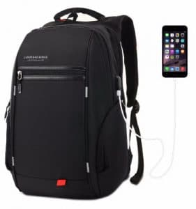 LUXUR 37L Waterproof Laptop Backpack
