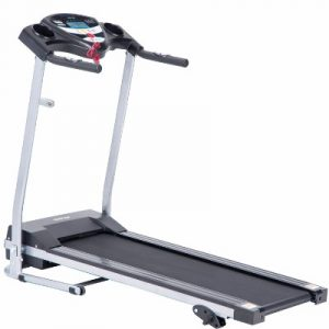 Merax JK1603E Folding Electric Treadmill, Black