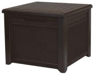 Keter Outdoor Rattan Style Deck Box, 55-Gallon