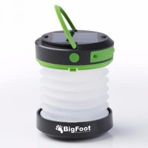 Bigfoot Outdoor Products Compact Solar Camping Lantern with USB PowerBank