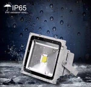 LEDMO 50w Flood Lights 2.0 LED Waterproof IP65 for Outdoor, 3000K, 4000LM, 250W