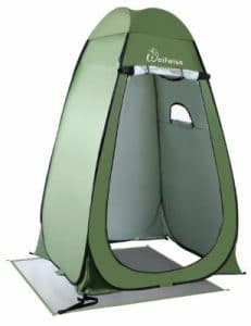 WolfWise Upgrade 6.25Ft Instant Pop-Up Privacy Tent