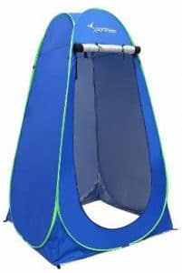 6.25_ Portable Pop Up Changing Tent Dressing Room Outdoor Shelter for Camping Photo