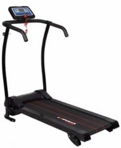 Confidence Fitness Confidence Power Trac Treadmill, Black