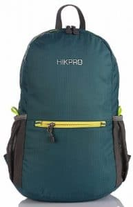 Hikpro 20L Ultra Lightweight Packable Backpack