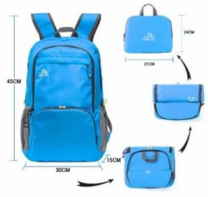 Cobiz Waterproof Travel Backpack
