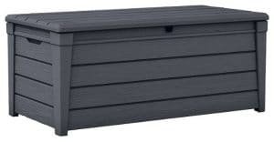 Keter Brightwood Deck Box, 120 Gallon