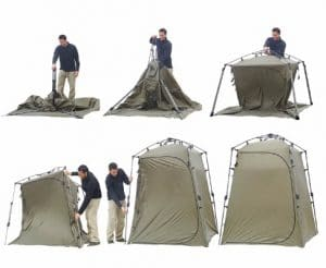 Lightspeed Outdoors Xtra Wide Quick Set Up Privacy Tent, Portable Changing Room