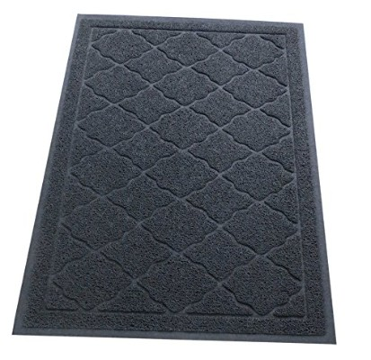 Cat Litter Mat | XL Super Size | 35 x 23 | Litter Box Scatter Control Trapper Pan