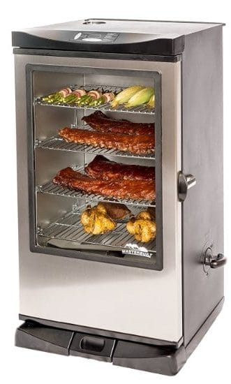 Masterbuilt 20075315 Front Controller Smoker with Viewing Window, 40-Inch