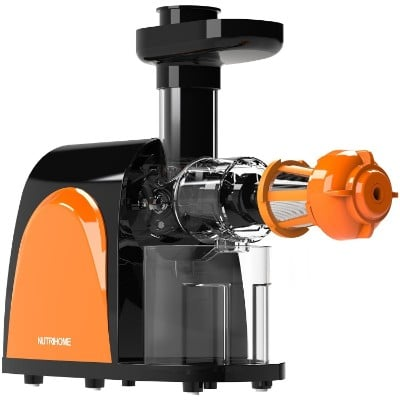 Masticating Juicer, Cold Press Juicer, Slow Juicer Machine with Juice Jug