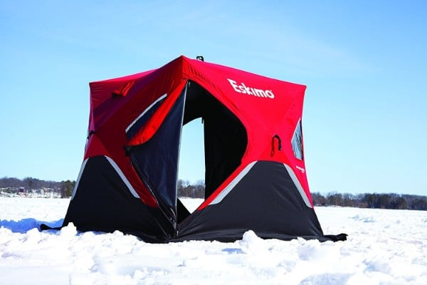 Eskimo FatFish 3-4 Person Pop-up Portable Ice Shelter