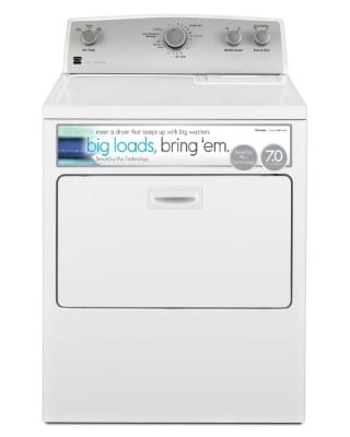 Kenmore 75132 Gas Dryer, 7.0 cu. Ft, white