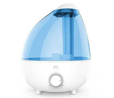 MistAire XL Ultrasonic Cool Mist Humidifier, 1-Gallon Water Tank