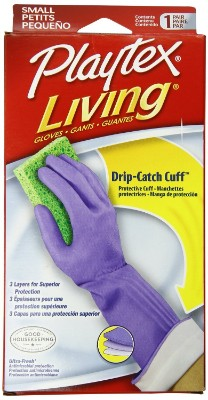 Playtex Prod 06306 Living Small Household Rubber Glove